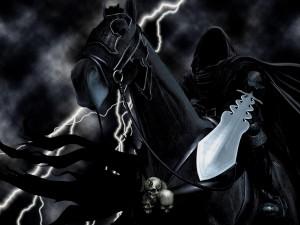 """Jinete negro de """"El Señor de los Anillos"""""""