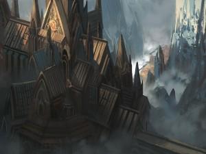 Postal: Un viejo castillo