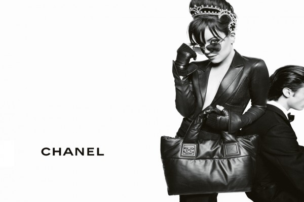 Chanel, chica y chico