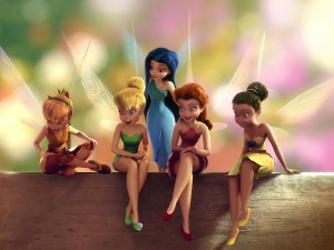 Campanilla y sus amigas