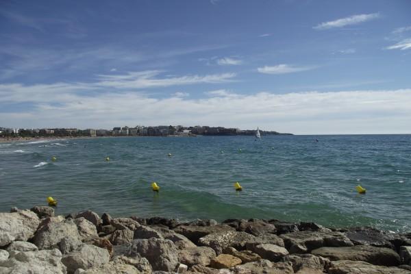Rocas en el mar