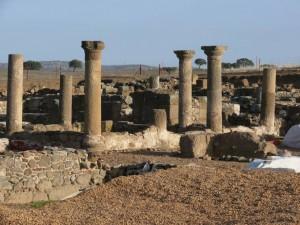 Postal: Sisapo, ciudad romana en La Bienvenida (Ciudad Real, España)