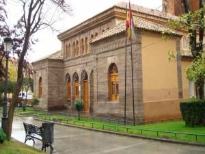 Postal: Casa de Baños, Puertollano (España)