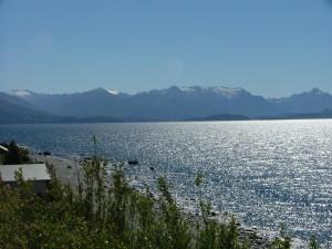 Postal: Lago Nahuel Huapi (Bariloche, Argentina)