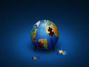 Postal: Planeta puzzle