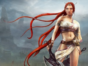 Postal: Heavenly Sword, Nariko