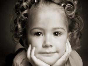 Una linda niña