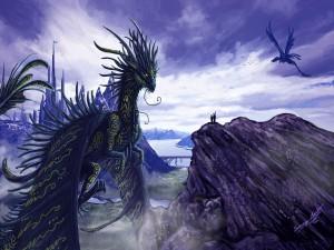 Postal: Mundo de dragones