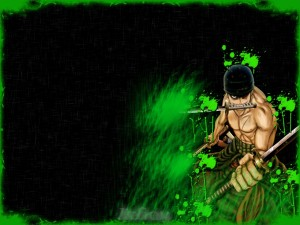 "Postal: Zoro ""One Piece"""