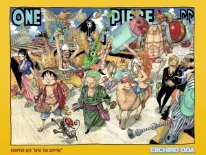 Postal: One Piece, 2 años después