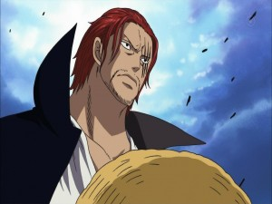 "Postal: Shanks El Pelirrojo ""One Piece"""