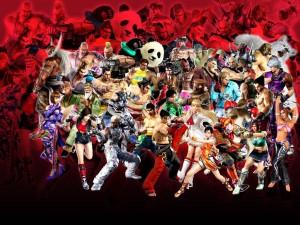 Postal: Personajes Tekken