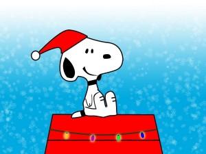 Navidad con Snoopy