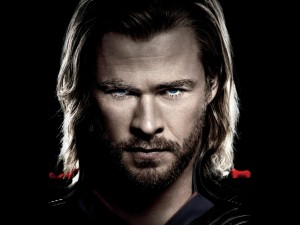 "Chris Hemsworth en ""Thor"""