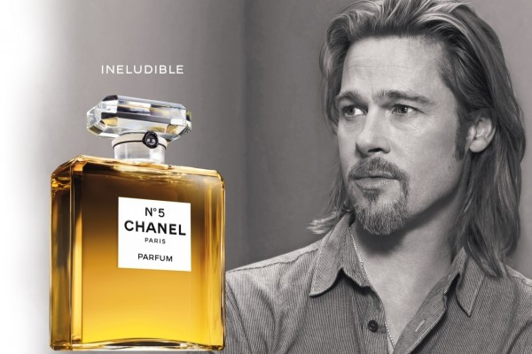 Chanel Nº5 y Brad Pitt