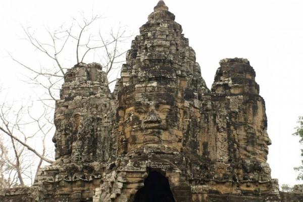 Monumento de Angkor en Camboya