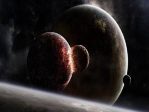 Colisión de planetas