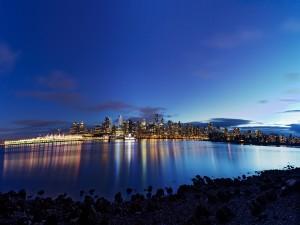 Postal: Vancouver al atardecer