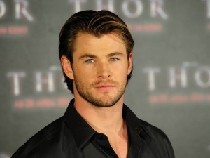 Chris Hemsworth, en el estreno de Thor