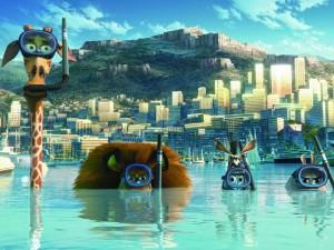 Postal: Madagascar, bajo el agua