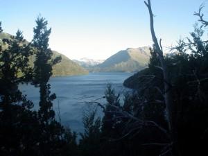 Postal: Lago Mascardi (Río Negro, Argentina)