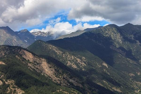 Montañas en Ordino, Andorra