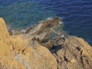 Postal: Cabo Sunión (Ática, Grecia)