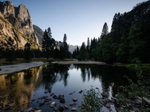 Atardecer en Yosemite Park