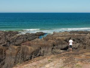 Playa de As Furnas (Galicia, España)