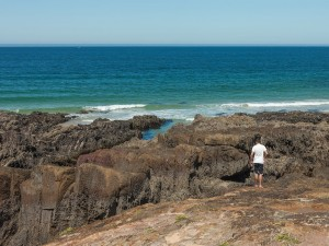 Postal: Playa de As Furnas (Galicia, España)