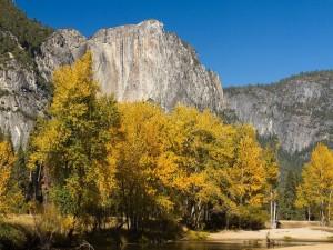 Formación rocosa en Yosemite