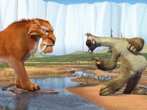 Postal: Diego y Sid (Ice Age)