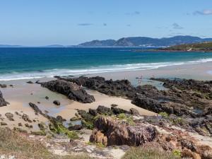 Playa de Río Sieira (Galicia, España)