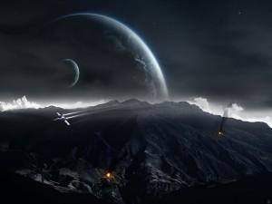 Postal: Viviendo en otros planetas