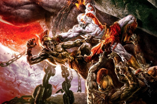 God of War, lucha