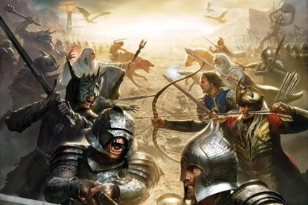 """Combate en """"El señor de los anillos"""""""