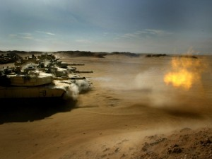Postal: Tanques en Irak