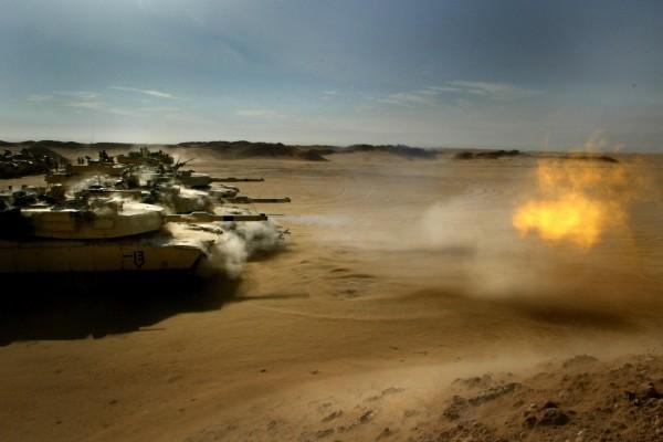 Tanques en Irak