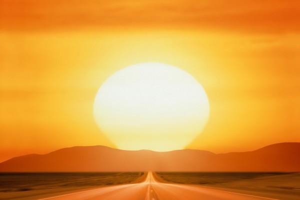 Carretera hacia el sol