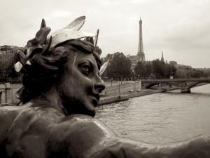 Postal: Vista de París