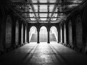 Bethesda Arcade en Central Park