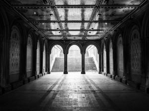 Postal: Bethesda Arcade en Central Park
