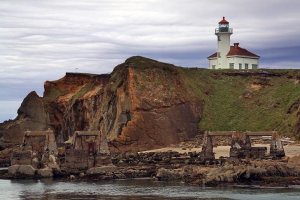 Faro de Cabo Arago en Gregory Point