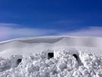 Cuevas en la nieve