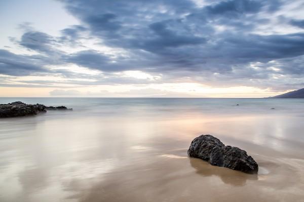 Playa en calma