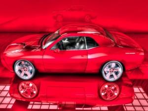 Postal: Challenger rojo