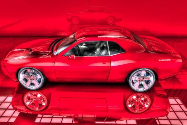 Challenger rojo