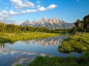 Cordillera Teton, Wyoming, EE.UU.