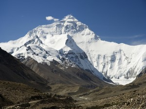 Postal: El monte Everest