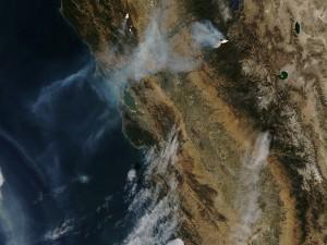 Incendios vistos desde el espacio